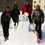 snöskulptur i åre