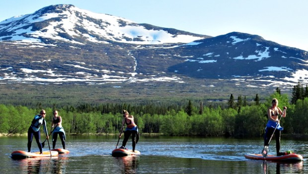 Stand up Paddle wilderness adventure in Sweden_640