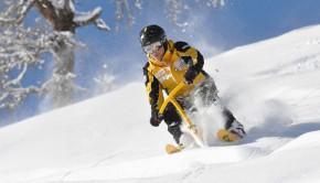 Puder snowbike åre