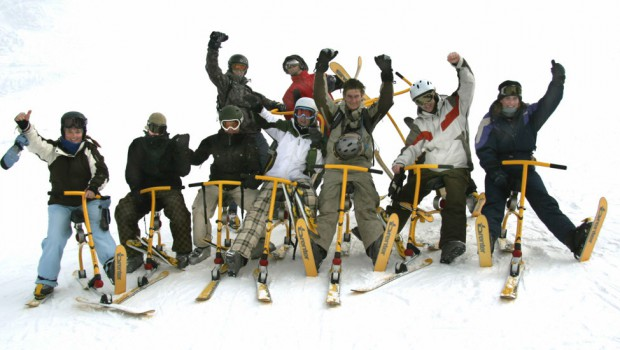 Snowbike på konferensen