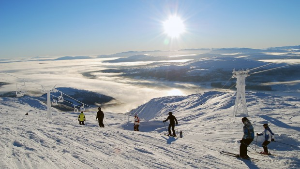 Åreskutan skihunt challenge