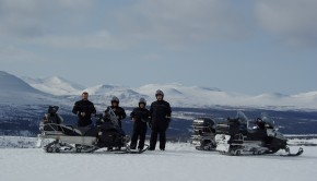 snowmobile in åre