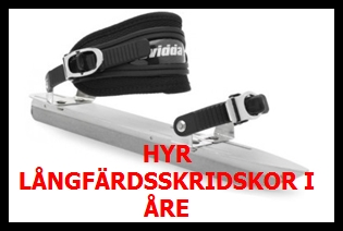 Hyr långfärdsskridskor i Åre banner