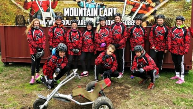 Mountain Cart på skolresan