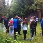 Femkamp på skolresan till Åre
