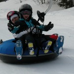 Snowtubing i Åre
