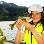 lyckad fisketur på åresjön